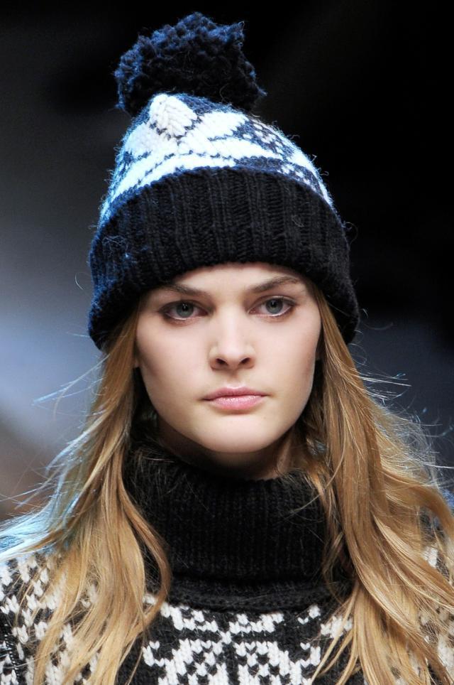 D&G, kolekcje jesień/zima 2010/2011, styl nordycki