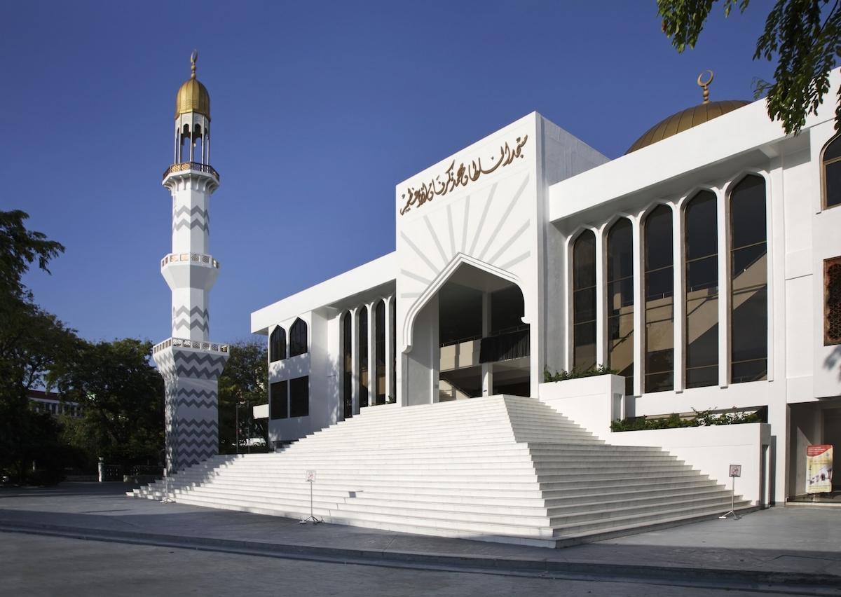 Malediwy, meczet