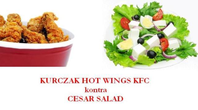 Walka na kalorie: fast food