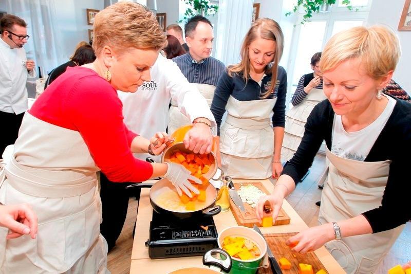 Warsztaty kulinarne z Andrzejem Polanem
