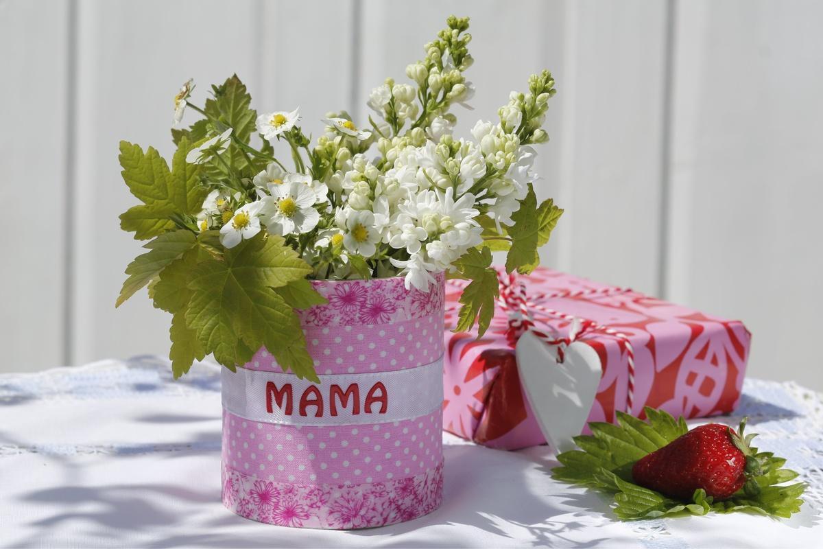 Wazon DIY ma Dzień Matki - krok 3