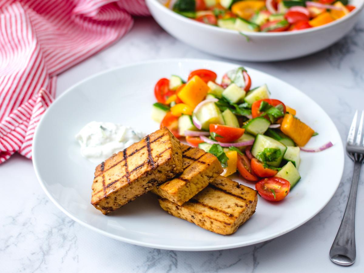 przepis na tofu na wegańskiego grilla