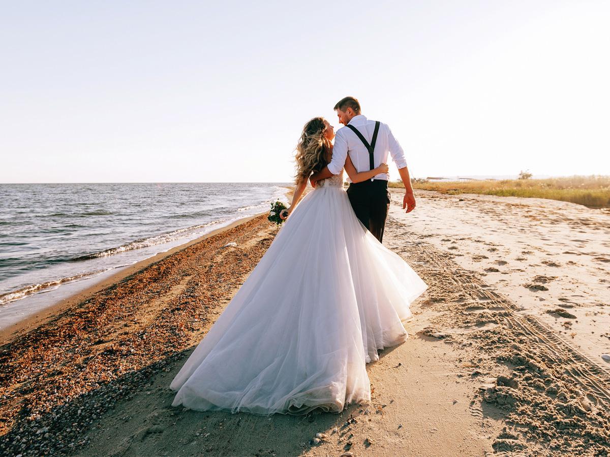 Małe wesele na plaży