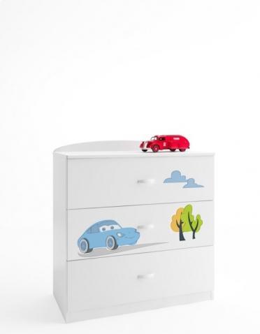 komoda pok243j dziecięcy meblik auta weso�e mebelki dla