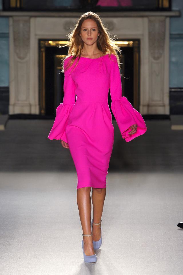 różowe ubrania, trendy 2012 wiosna