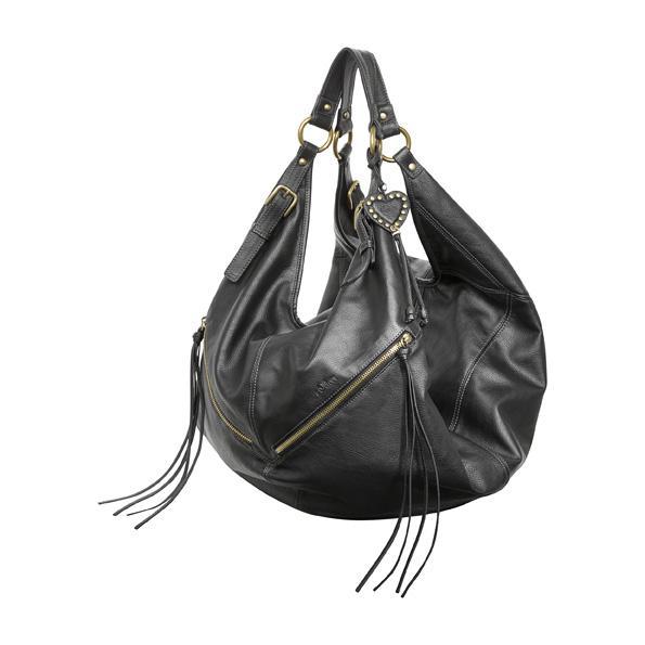czarna torba s.Oliver - wiosenna kolekcja