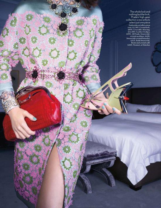 sesja mody, z magazynów mody