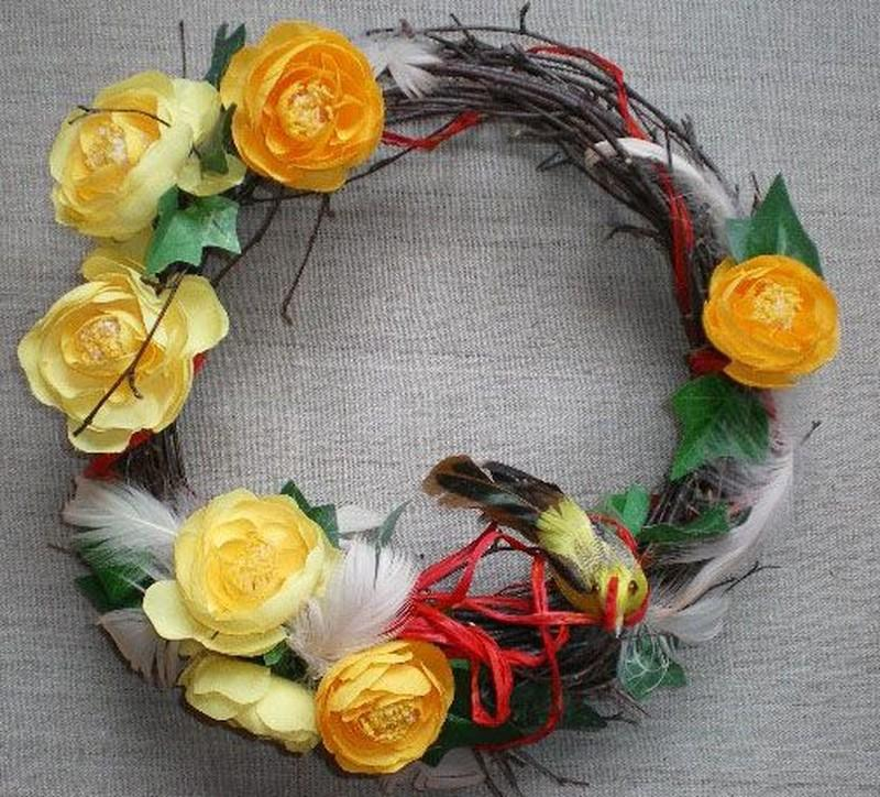 Wiosenne stroiki Joanny Hukaluk - zdjęcie