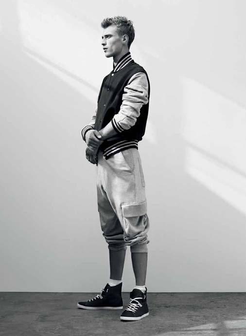 pomarańczowa kurtka Adidas - wiosna/lato 2011