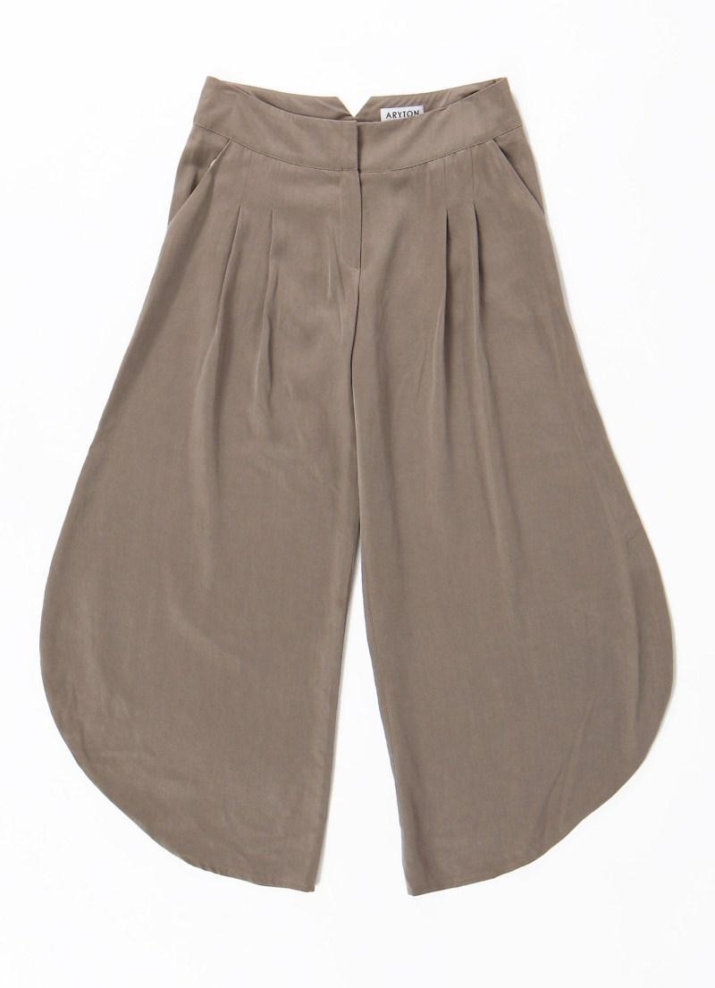 brązowe spodnie Aryton - wiosna/lato 2011
