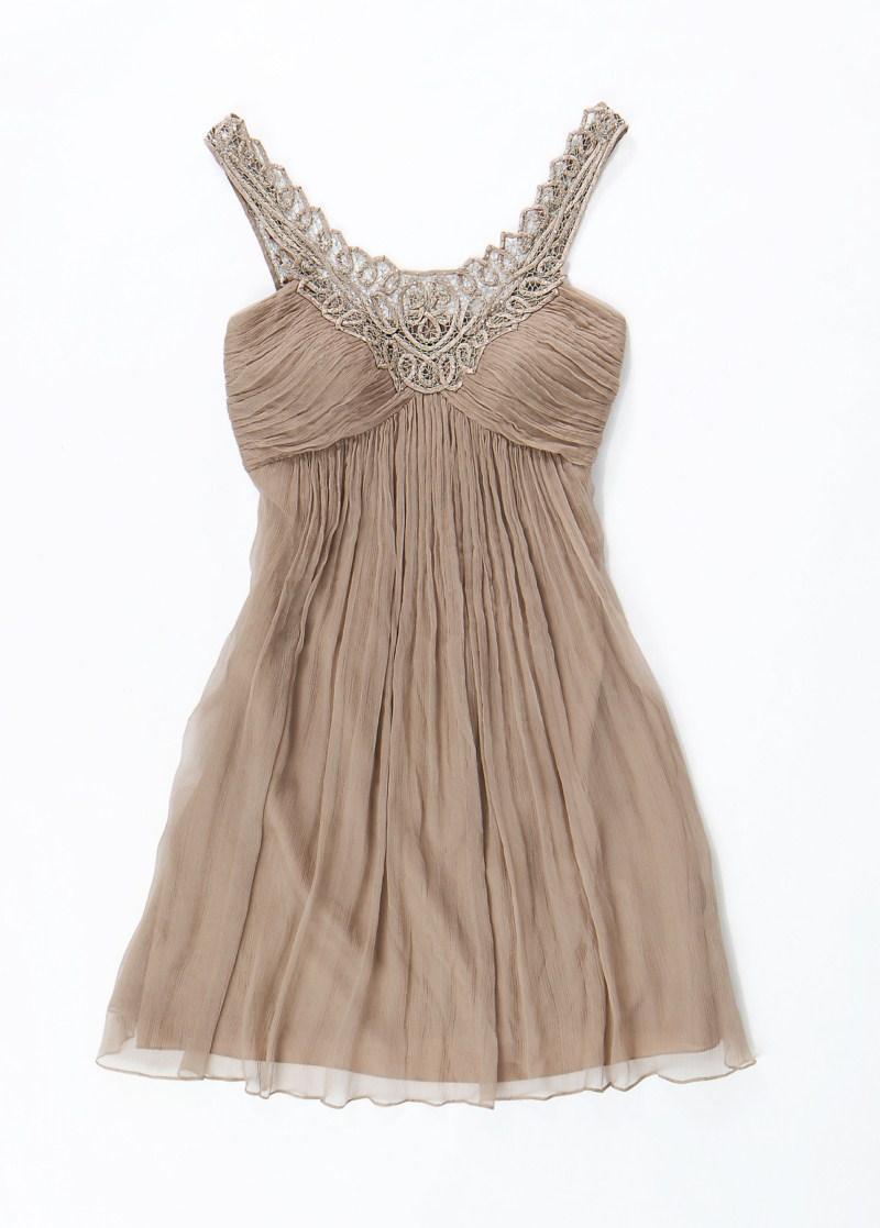 beżowa sukienka Aryton - lato 2011