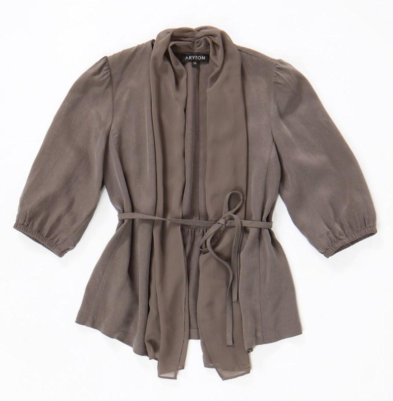 brązowa bluzka Aryton - kolekcja wiosenno/letnia