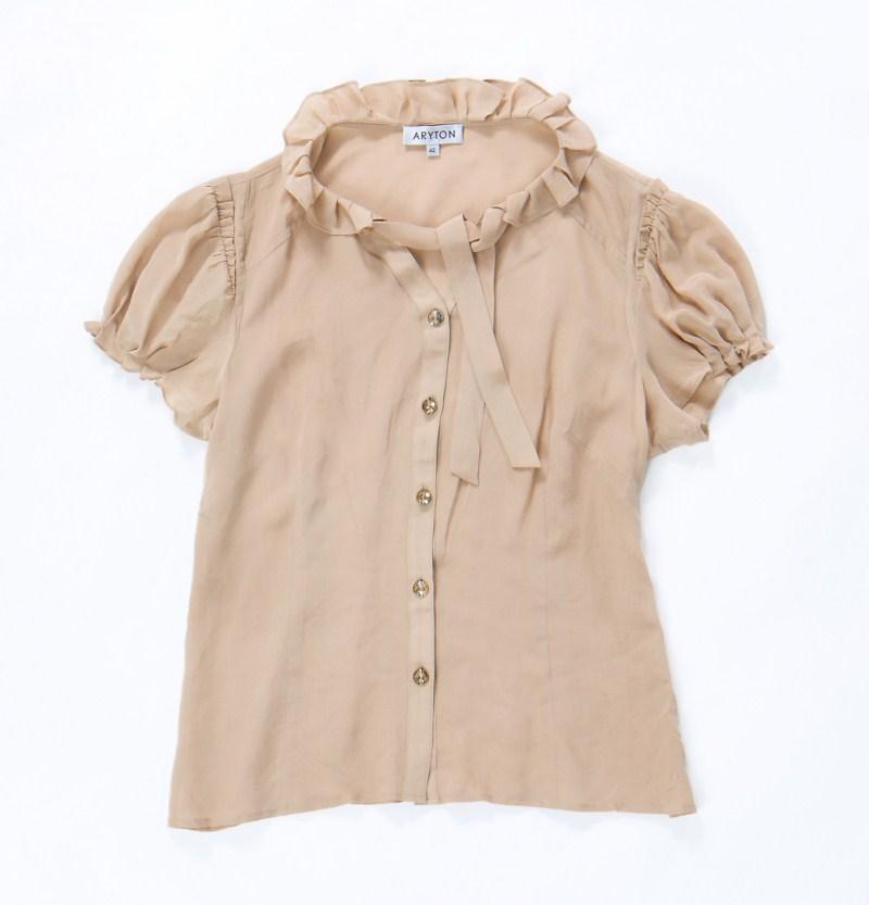 beżowa bluzka Aryton - moda 2011