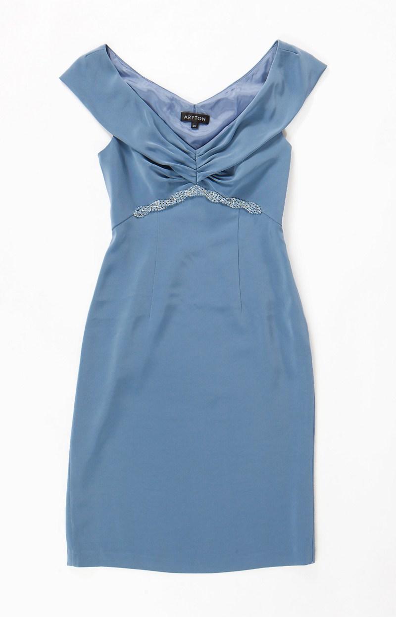 niebieska sukienka Aryton - wiosna/lato 2011