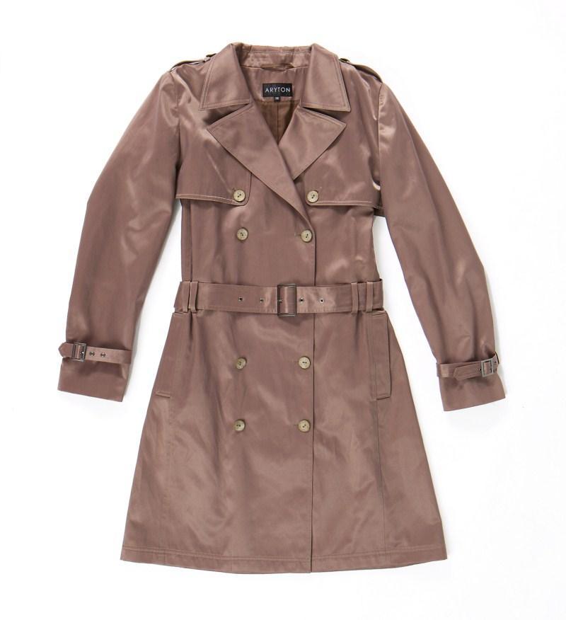 brązowy płaszczyk Aryton - kolekcja wiosenna