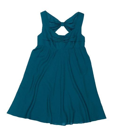 niebieska sukienka BGN - letnia kolekcja