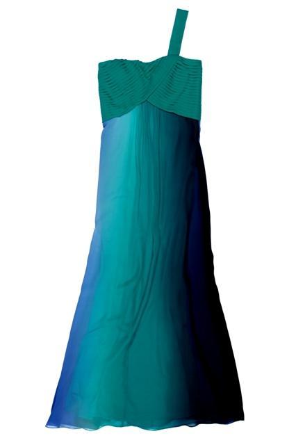 zielona sukienka BGN długa - wiosna/lato 2011