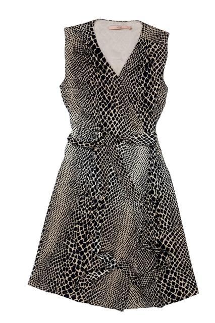 sukienka BGN panterka - moda wiosna/lato