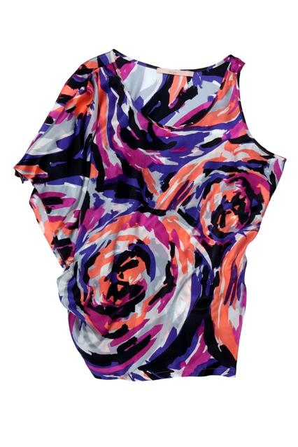 kolorowa bluzka BGN - z kolekcji wiosna-lato 2011