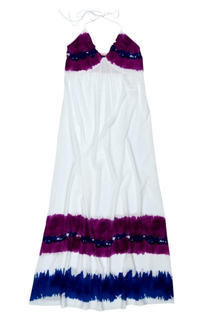 biała sukienka BGN długa - lato 2011