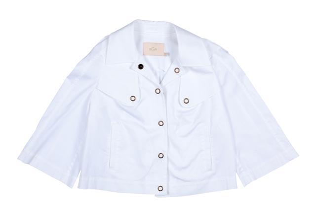 biała kurtka BGN - z kolekcji wiosna-lato 2011