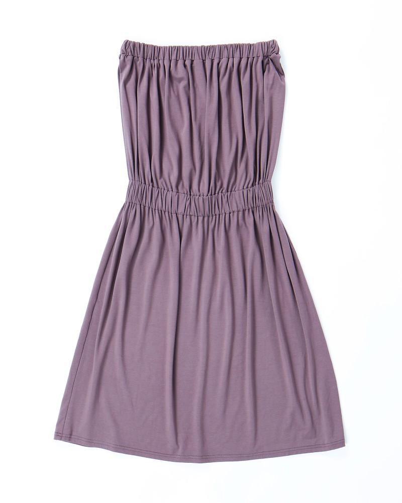 fioletowa sukienka Echo - z kolekcji wiosna-lato 2011