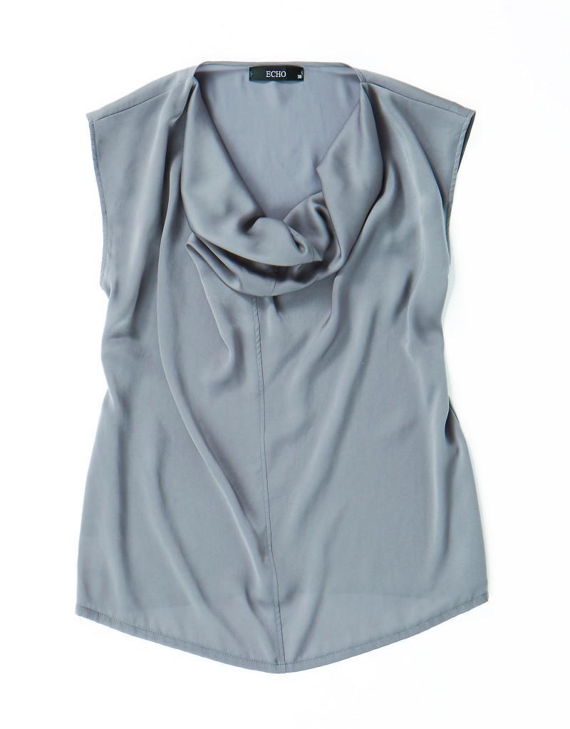 szara bluzka Echo - letnia kolekcja