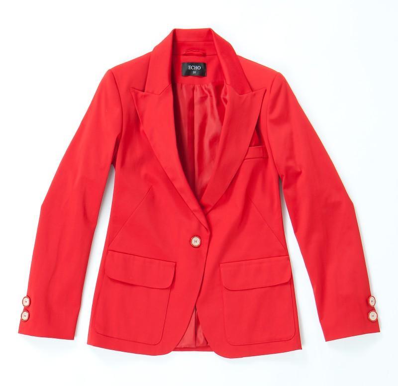 czerwony żakiet Echo - kolekcja wiosenna
