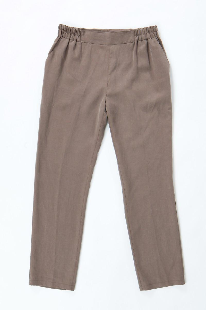 brązowe spodnie Echo - wiosna-lato 2011