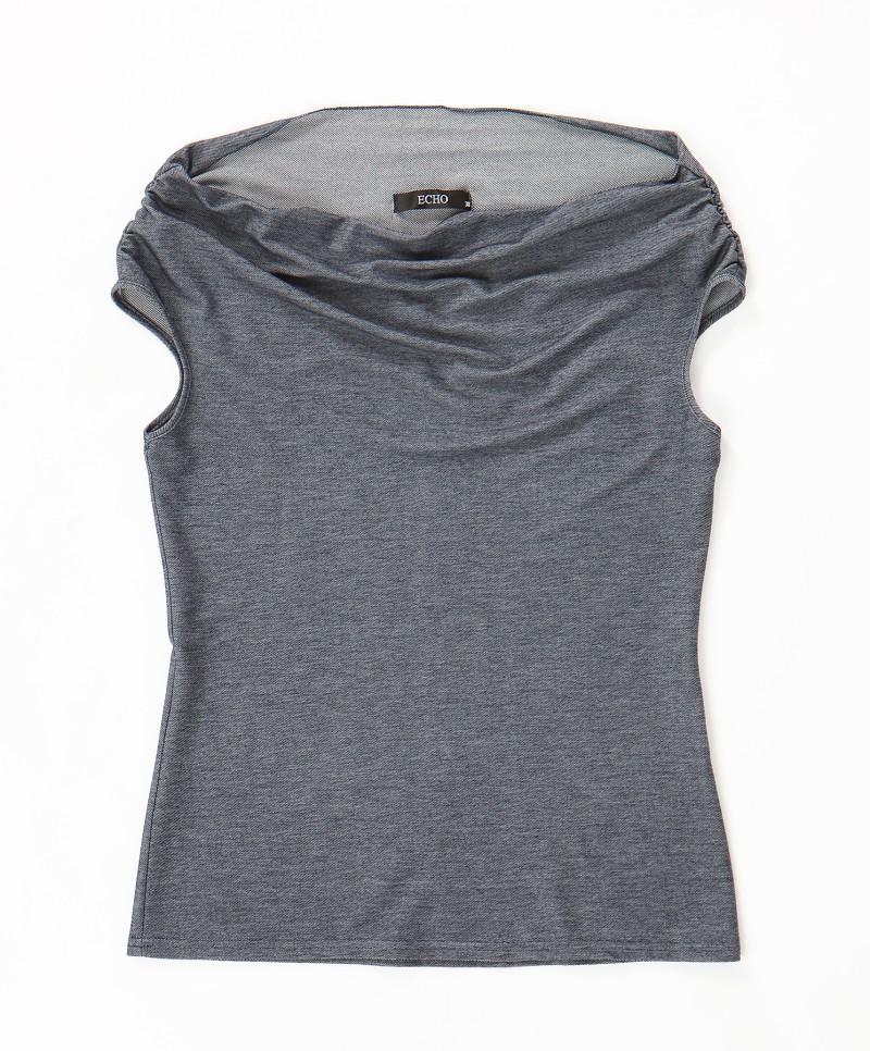 szara bluzka Echo - moda wiosna/lato