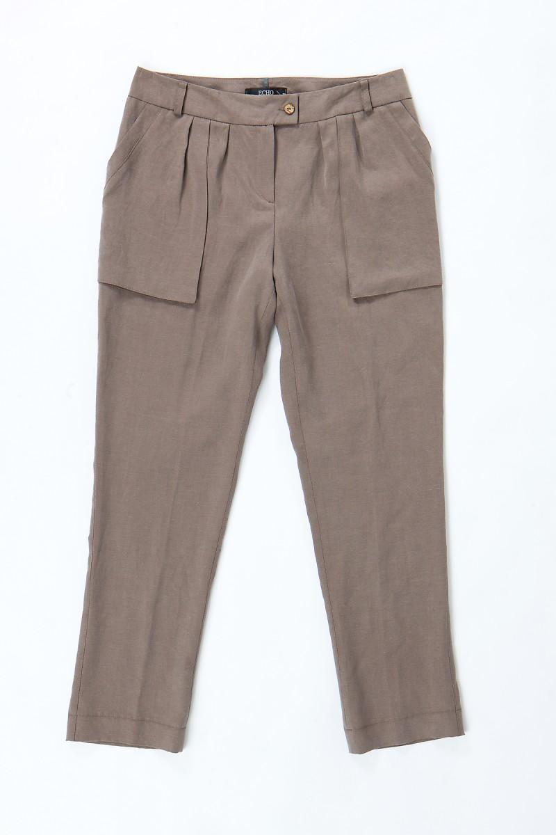 brązowe spodnie Echo - kolekcja wiosenno/letnia