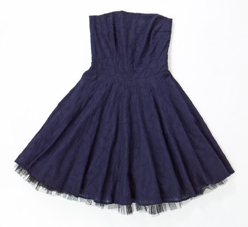 granatowa sukienka Echo - moda 2011