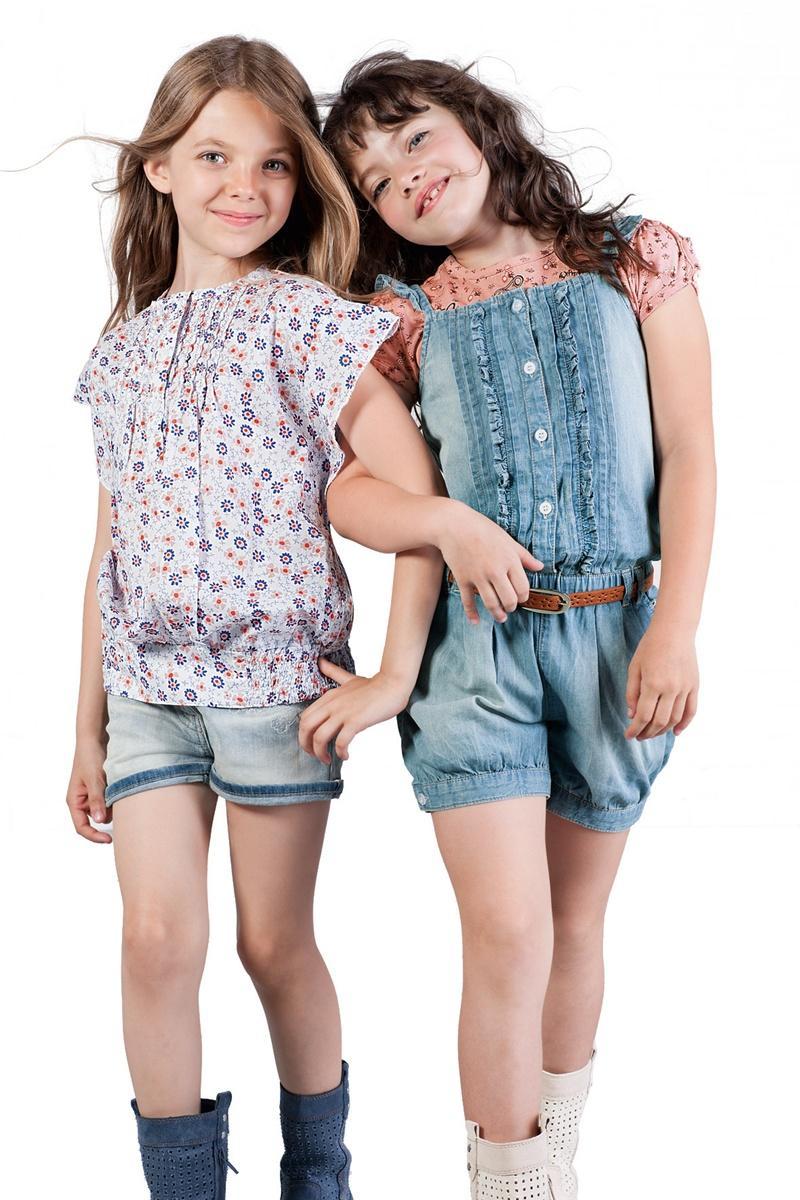 szorty Geox dżinsowe - wiosna/lato 2012