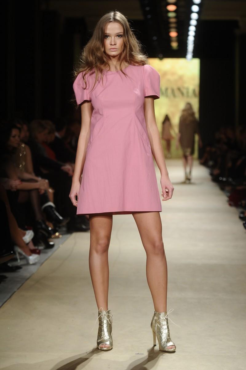 0bb1c4a96f różowa sukienka La Mania - wiosna lato 2012 - Wiosenno-letnia ...