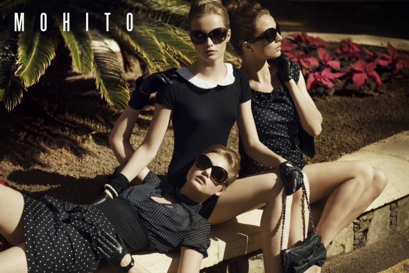czarna sukienka Mohito - kolekcja wiosenno/letnia