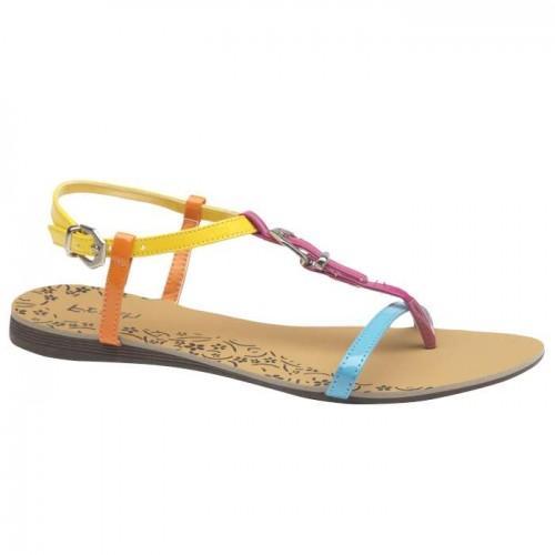kolorowe sandały Bata - kolekcja wiosenno/letnia
