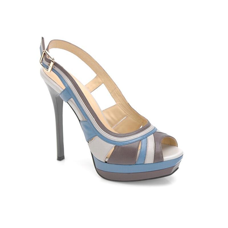 kolorowe sandały Kazar - letnia kolekcja