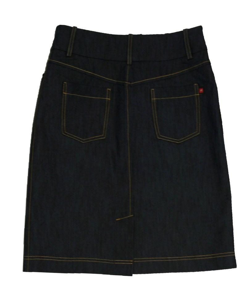 granatowa spódnica Bialcon dżinsowa - wiosna/lato 2011