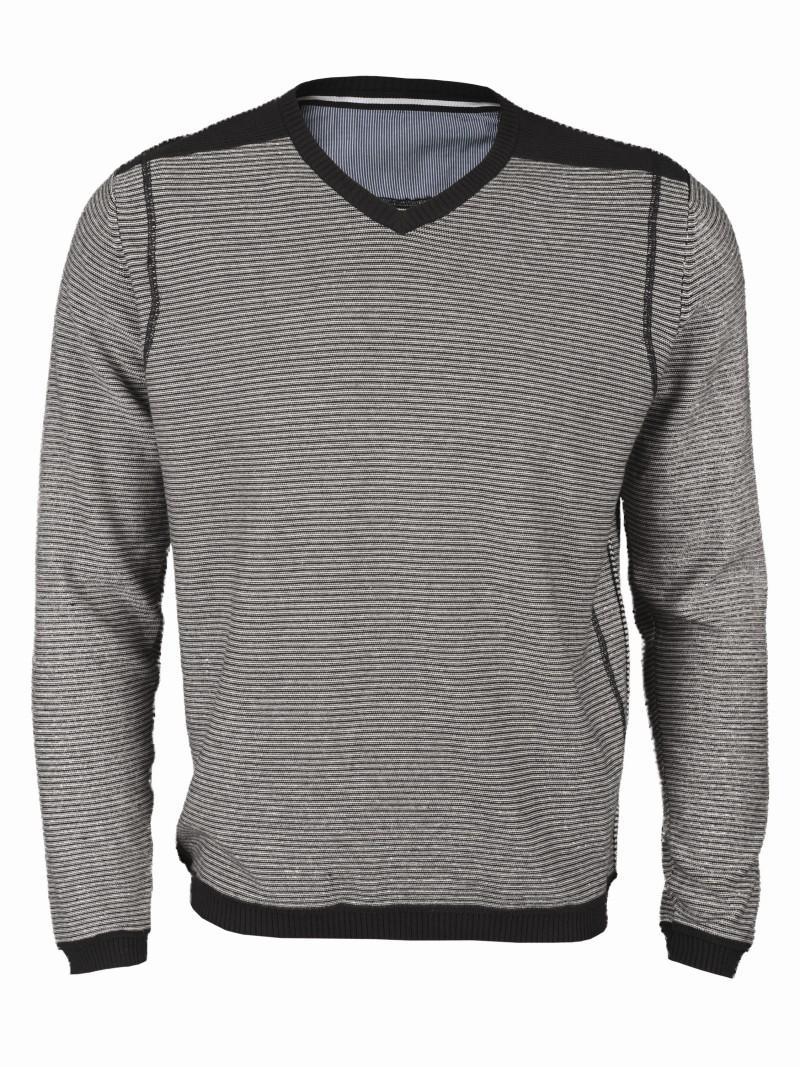 szary sweter Top Secret w paski - z kolekcji wiosna-lato 2011
