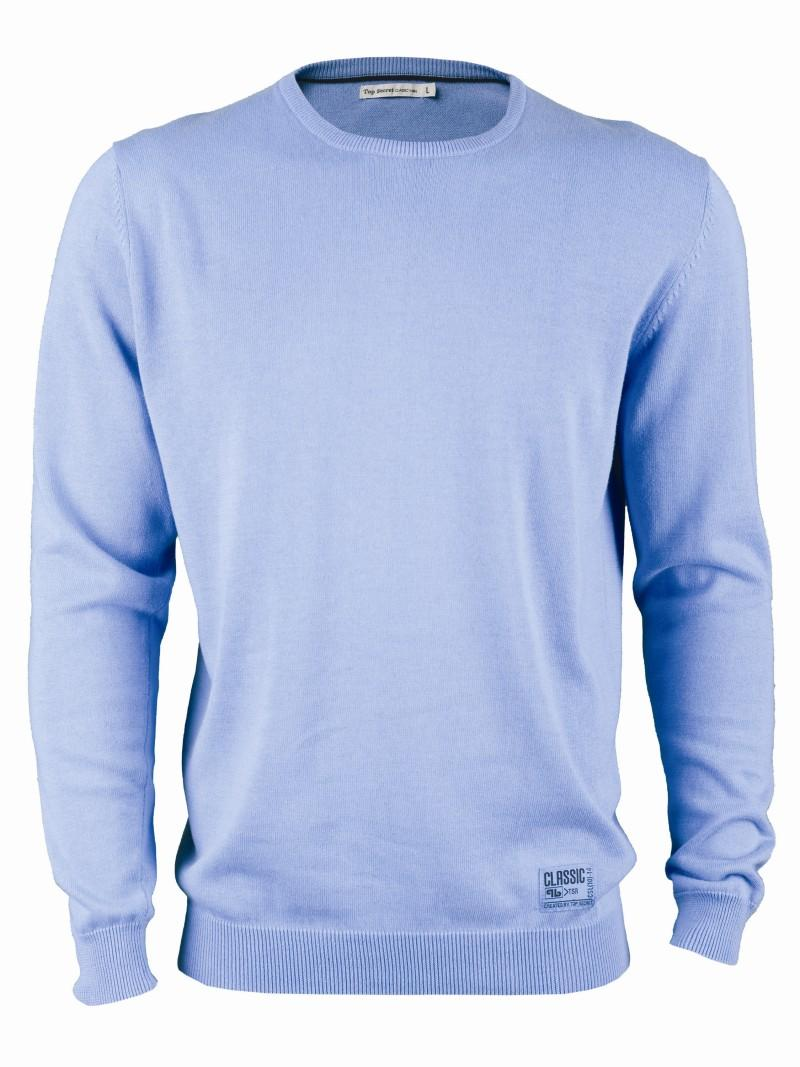 błękitny sweter Top Secret - letnia kolekcja