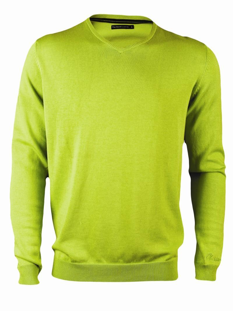 zielony sweter Top Secret - kolekcja wiosenno/letnia