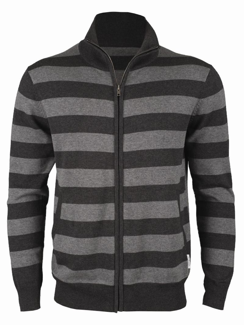 sweter Top Secret w pasy rozpinany - kolekcja wiosenno/letnia