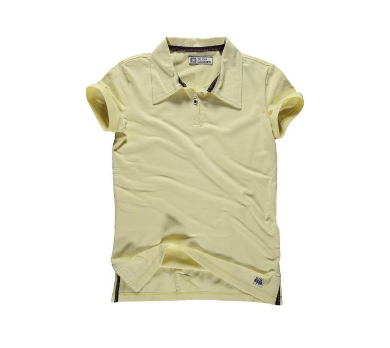 żółta koszulka Big Star polo - letnia kolekcja