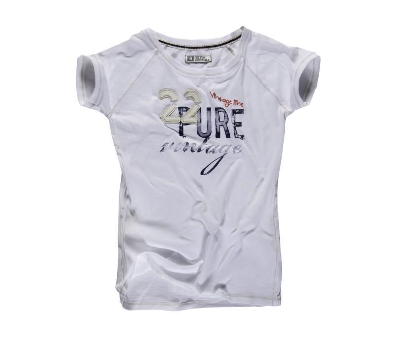 szary t-shirt Big Star z nadrukiem - letnia kolekcja