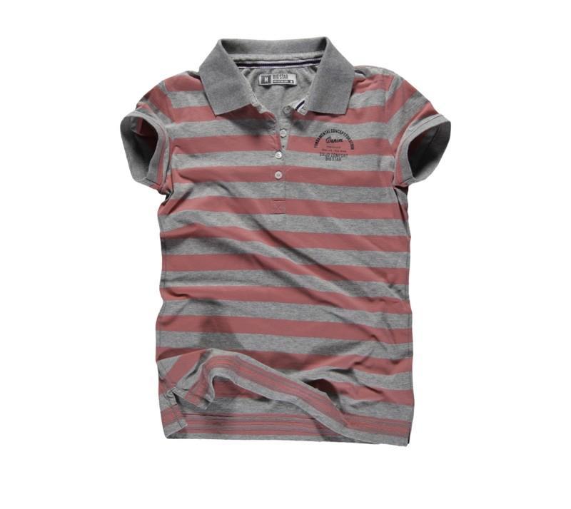 koszulka Big Star w paski polo - kolekcja na lato