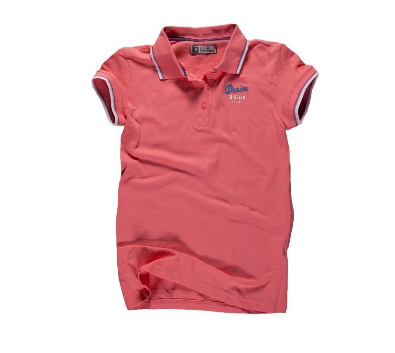 czerwona koszulka Big Star polo - kolekcja wiosenno/letnia