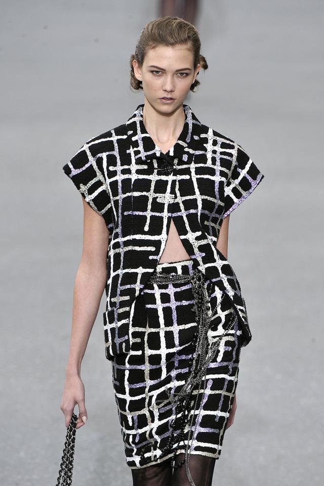 kolekcje wiosna-lato 2010, Chanel