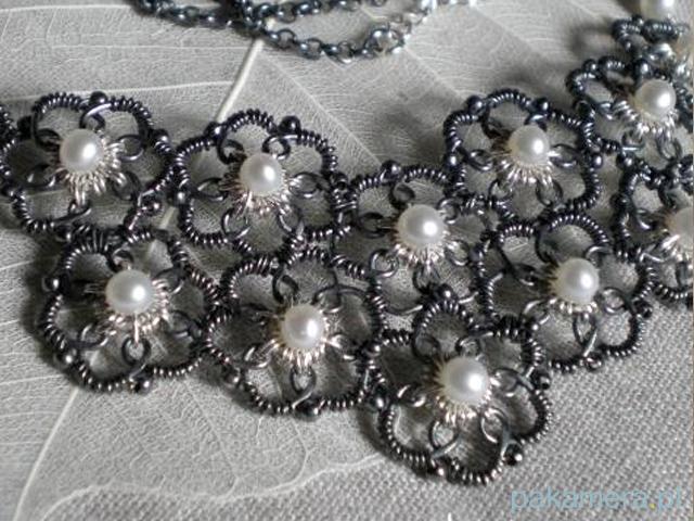 Wirewraping i metaloplastyka biżuteryjna - galeria
