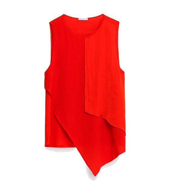669f731656894 Czerwona bluzka Zara, cena, z ok. 69 zł na ok. 39 zł - Wyprzedaże ...