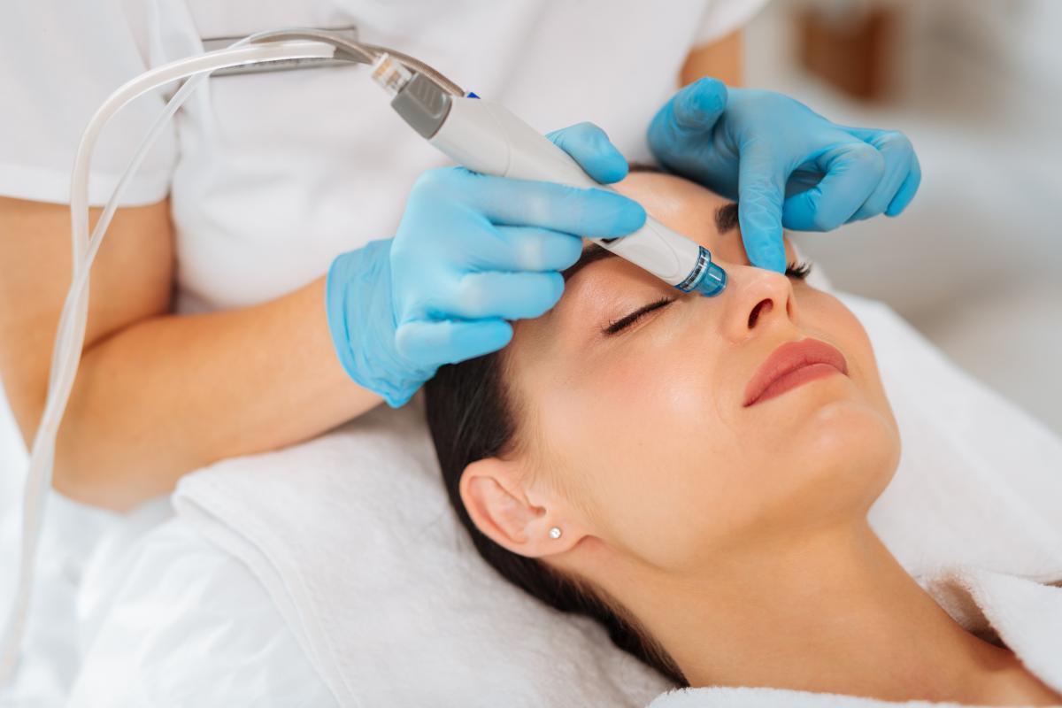 wodorowe oczyszczanie twarzy efekty